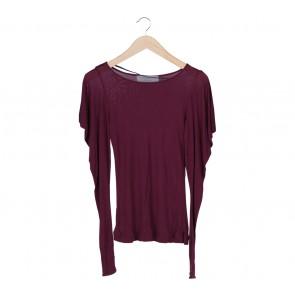 Zara Purple T-Shirt