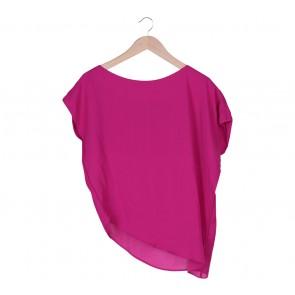 Shop At Velvet Pink Asymetric Blouse
