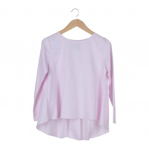 ATS The Label Pink Blouse