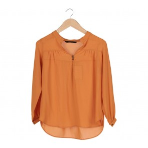Shop At Velvet Orange Blouse