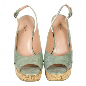 Alaa Green Wedges