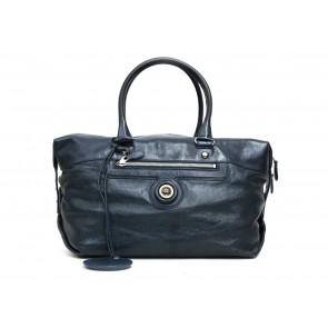 Balenciaga Black Duffle Shoulder Bag