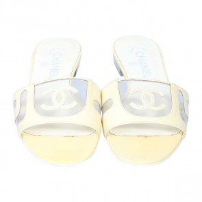 Chanel Yellow Sandals
