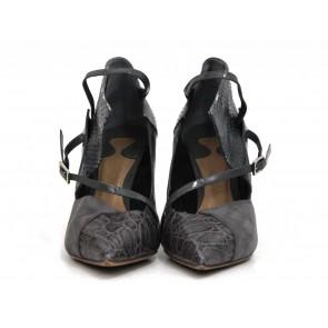 Chloe Grey Heels