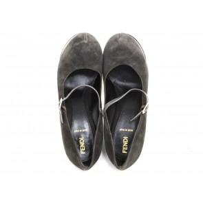 Fendi Dark Grey Heels