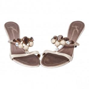 Giuseppe Zanotti Gold Sandals
