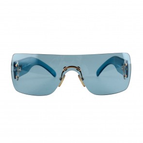 Gucci Blue Shield Fashionable Blue GG1194 Sunglasses