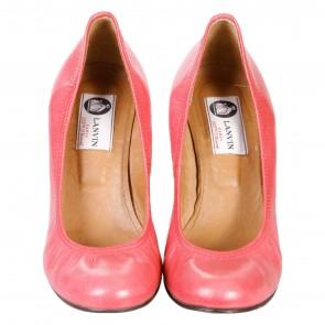 Lanvin Pink Wedges