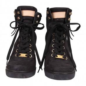 Louis Vuitton Black Sandals