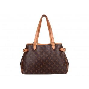 Louis Vuitton Brown Monogram Batignolles Horizontal Tote Bag