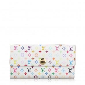 Louis Vuitton Multicolor/White Sarah Wallet