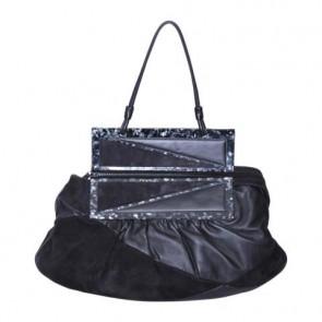 Fendi Black Patchwork To You Tote Bag