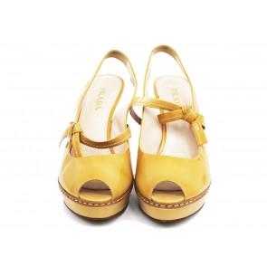 Prada Yellow Heels