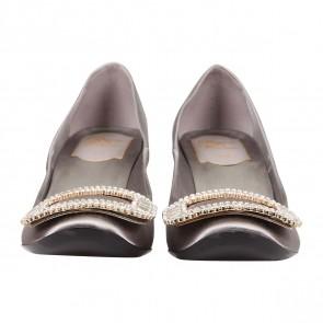 Roger Vivier Grey Heels