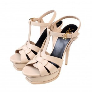 Saint Laurent Beige Sandals