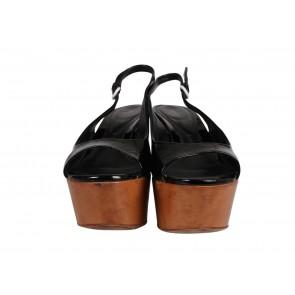 Sergio Rossi Black Sandals