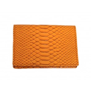 Smythson Orange Wallet