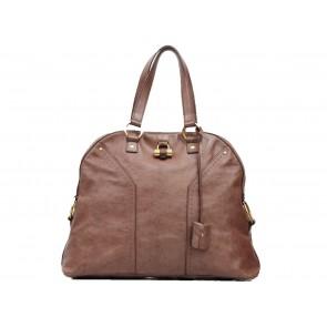 Yves Saint Laurent Brown Muse Tote Bag