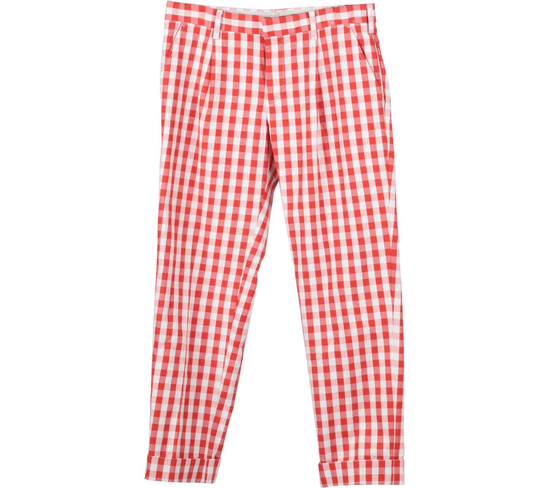 UNIQLO Orange Plaid Pants
