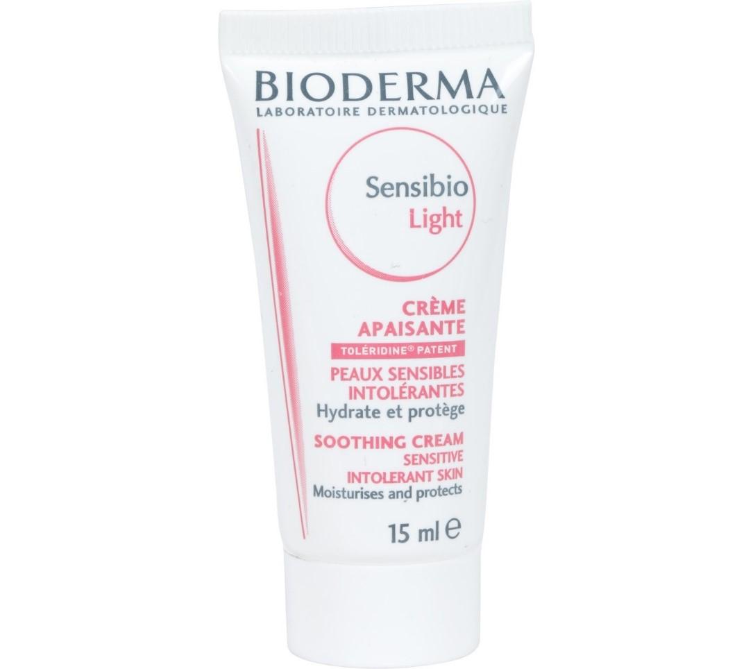 Bioderma Sensibio Light Moisturizing Soothing Cream for sensitive and intolerant skin